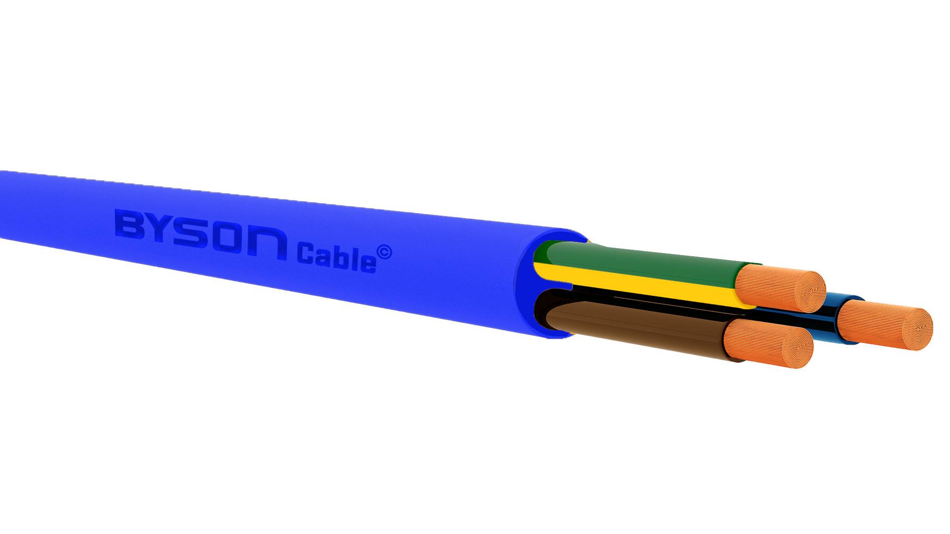 318-A / BS 6004 Arctic Grade Cable BLUE