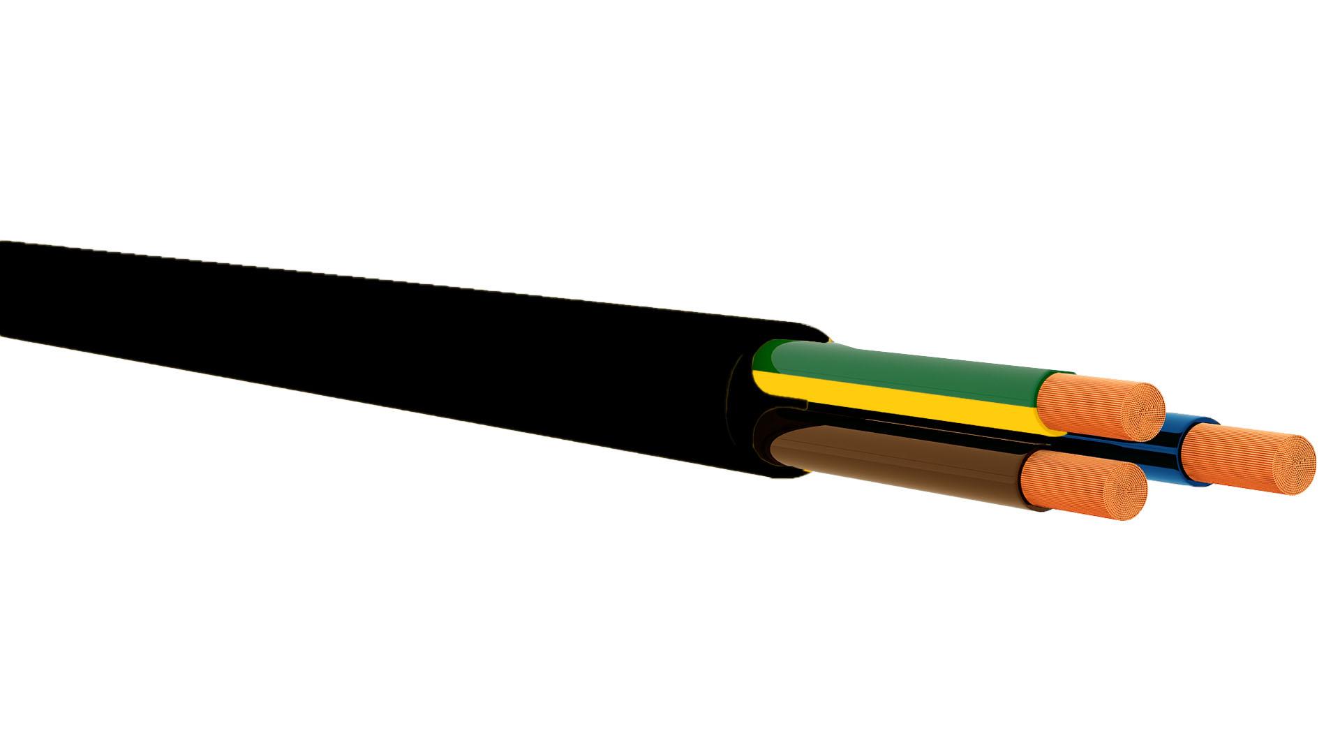 318-Y / H05VV-F CABLE BLACK