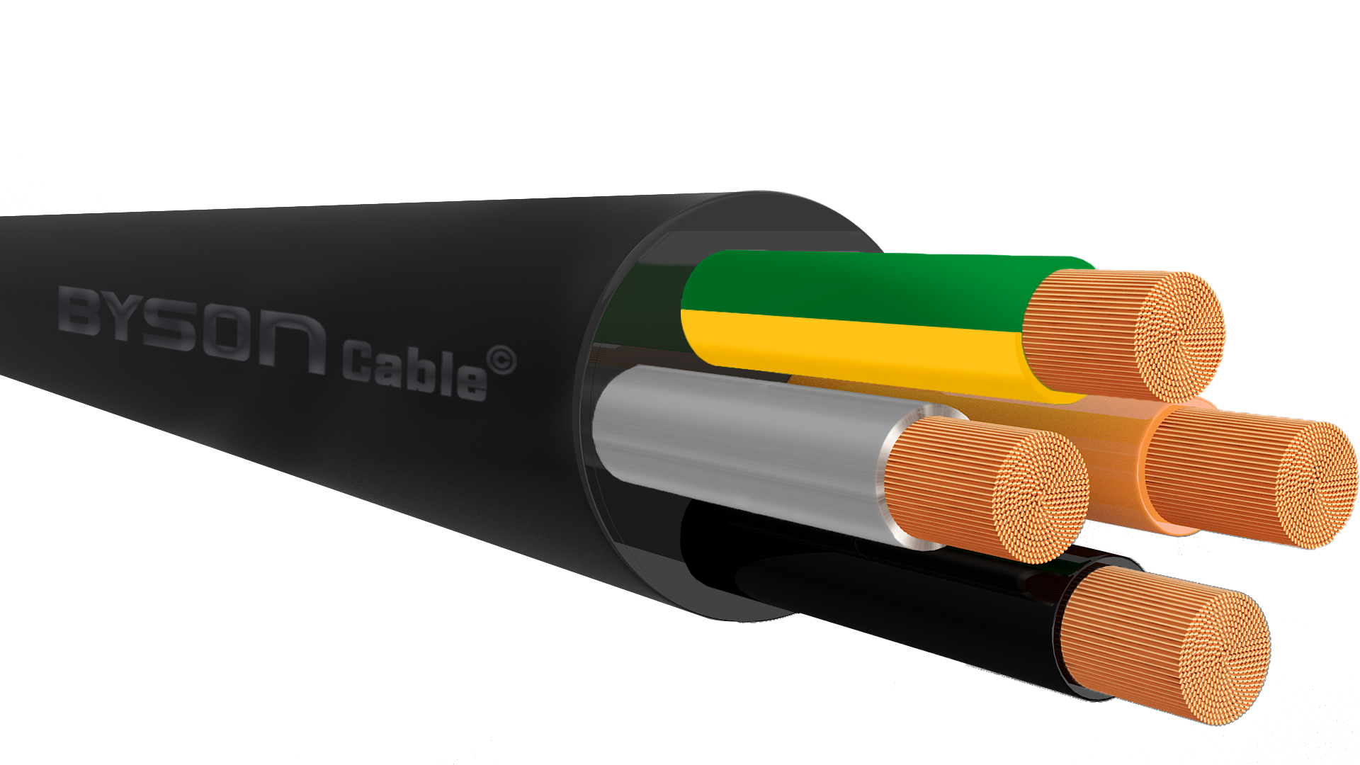 H07RN-F BS EN 50525-2-21  Flexible Rubber Cable